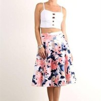 Fantasia Midi Skirt - FINAL SALE!