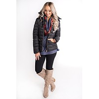 Snowbird Puffy Jacket (Black)