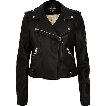 Black biker jacket - biker jackets - coats / jackets - women
