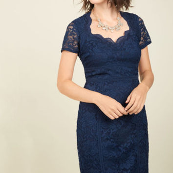 Elegant Integrity Lace Dress | Mod Retro Vintage Dresses | ModCloth.com