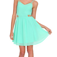Scent Of Summer Dress Neon Green