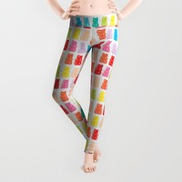 Gummy Bears Leggings by allisone