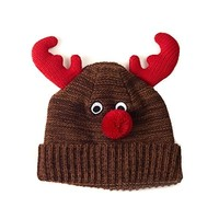 Ugly Sweater Knit Hat - Reindeer