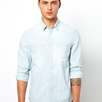 ASOS Chambray Shirt at asos.com
