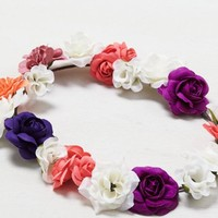AEO Women's Neon Flower Head Crown (Multi)