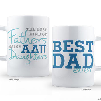 ADPi Alpha Delta Pi Best Dad Mug Sorority Father Mug