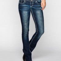 Hydraulic Bailey Womens Bootcut Jeans Dark Blast  In Sizes