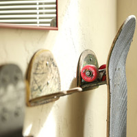 Upcycled Skateboard Board Hooks