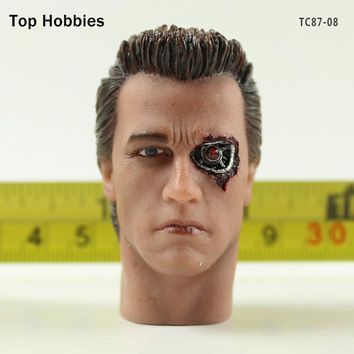 TC87-08 1/6 Scale Male Zombie Head accessories carving Sculpt Model Fit 12  Inch Phicen Action figure Doll Toys