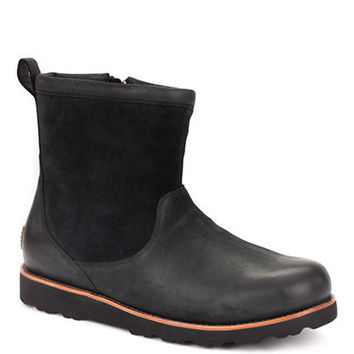 Ugg Australia Munroe Leather and Suede Ankle Boots