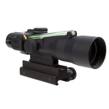 ACOG 3x30mm Compact Dual Illuminated Scope - Green Crosshair .308-168gr Win Ball Reticle with Colt Knob Thumbscrew Mount