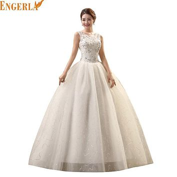 New Spring and Summer Style Bride Wedding Dress Strap Lace Princess Wedding Romantic Wedding Gowns Free Shipping