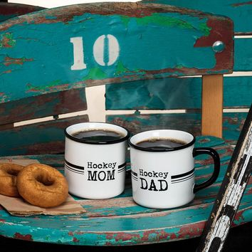 Hockey Mom and Dad Mugs