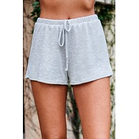 Sirena Knit Shorts (Silver)