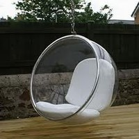 Aarnio Bubble Chair in Silver