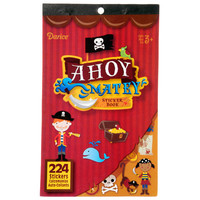 ConsumerCrafts Product Kids Sticker Book: Ahoy Matey Pirate Stickers