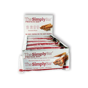 Simplyprotein Bar - Cinnamon And Pecan - Pack Of 15 - 1.4 Oz