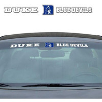 "Duke Blue Devils 35""x4"" Windshield Decal"