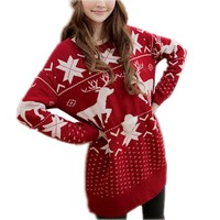 Partiss Womens Plus Size Pullover,Small Red