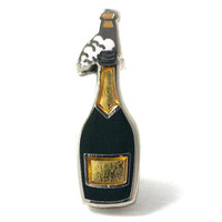 Champagne Bottle Pin