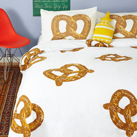 ModCloth Food Snack Nap Duvet Cover in Twin, Twin XL