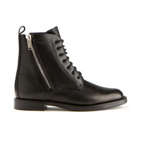 Saint Laurent classic lace-up army boots