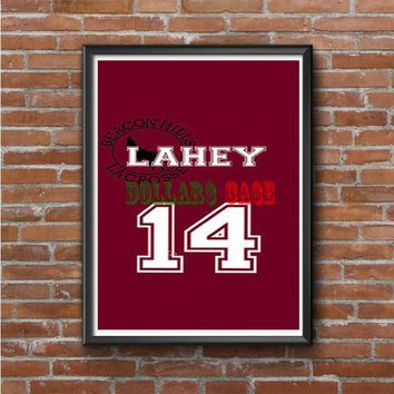 Lahey Number Jersey Teen Wolf Photo Poster