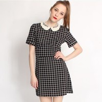 Hearts and Bows Tatianna Collared Dress | ARK
