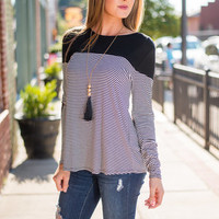 Can't Patch Me Top, Black