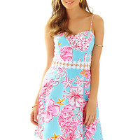 Lenore Lace Cut-Out Sundress - Sunglow - Lilly Pulitzer
