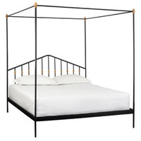 Heal's Abacus Four Poster King Size Bed