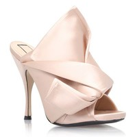 NO. 21 Satin Bow Mule