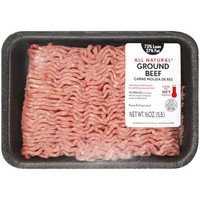 Fresh Meat 73/27 Ground Beef, 1 lb - Walmart.com