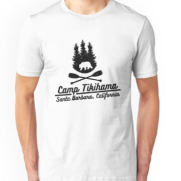 'Camp Tikihama' Classic T-Shirt by cantikkyky