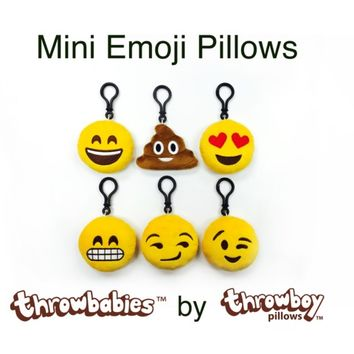Mini Emoji Pillows - Throwbabies™ by Throwboy