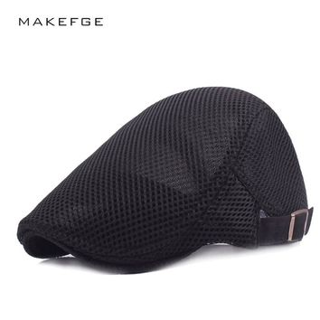 Summer Beret Hat Casual Beret Hat for Men and Women Visors Ivy Flat Head Cap Cabbie Newsboy Style Gatsby Hat Flat Caps Berets