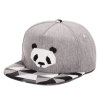 Cute Panda Hip Hop Baseball Cap Hat