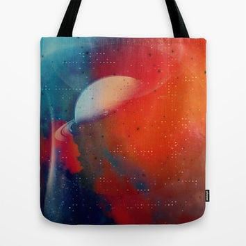 Space Debris Tote Bag by DuckyB (Brandi)