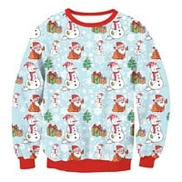 Ugly Christmas Sweaters - Crazy Santa