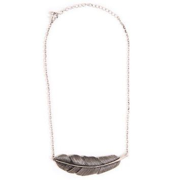 Feather Pendant Necklace - JUST ARRIVED
