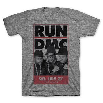 Run Dmc | Vintage Tour  Slim Fit T-Shirt