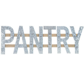 Pantry Metal Word Wall Decor | Hobby Lobby | 5806831