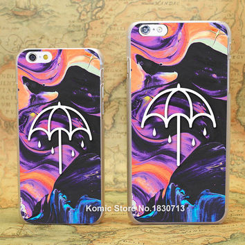 bring me the horizon that's the spirit hard transparent clear Skin Cover Case for Apple iPhone 7 6 6s Plus SE 5 5s 4 4s 5c