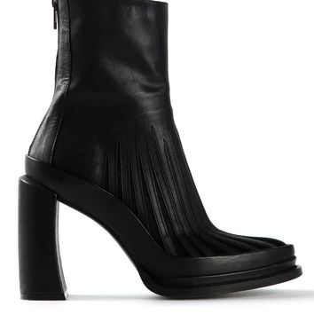 Ann Demeulemeester sheer panel boot