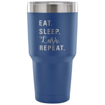 Eat Sleep Lash Repeat Tumbler - 30 oz - More Colors!
