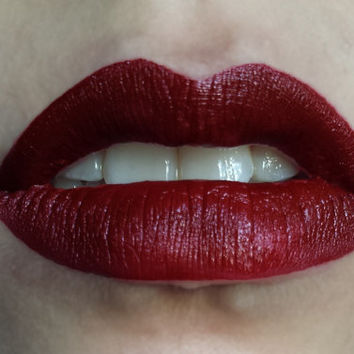WITCH HUNT red lipstick by Insomnia Cosmetics- vegan and cruelty free