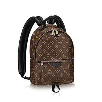 One-nice™ Authentic Louis Vuitton Monogram Canvas Palm Springs Backpack PM Handbag Article: M41560 Made in France