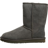 UGG Womens Classic Short Boots Grey