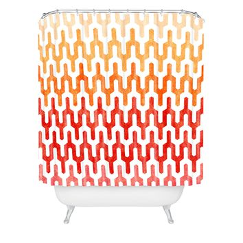 Arcturus Warm 1 Shower Curtain