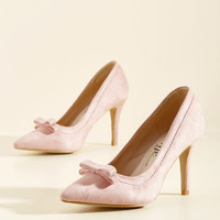 Pump at the Opportunity Heel in Petal | Mod Retro Vintage Heels | ModCloth.com